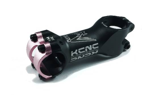 KCNC Vorbau Stem Fly Ride 31,8/70mm pink-bling-edition